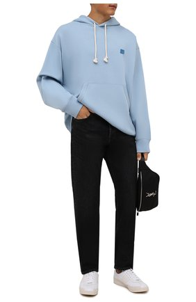 Мужские джинсы ACNE STUDIOS черного цвета, арт. B00173 | Фото 2