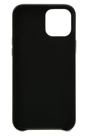 Чехол для iphone 12 pro max VETEMENTS черного цвета, арт. UA52SA400B 2410/W/BLACK 12 PR0 MAX | Фото 2
