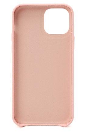 Чехол для iphone 12 pro VETEMENTS розового цвета, арт. UA52SA220P 2410/W/BABY PINK 12 PR0   Фото 2