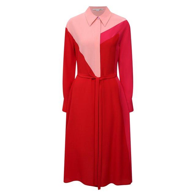 Шелковое платье Stella McCartney