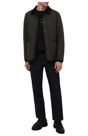 Мужская утепленная куртка Z ZEGNA хаки цвета, арт. VY023/ZZ122 | Фото 2