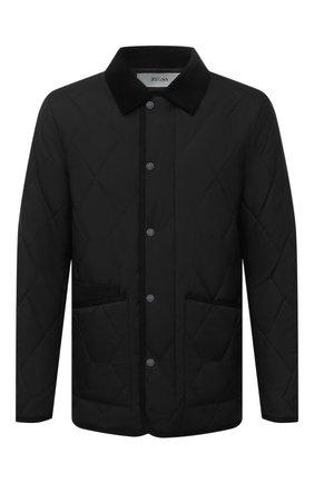 Мужская утепленная куртка Z ZEGNA черного цвета, арт. VY023/ZZ122 | Фото 1