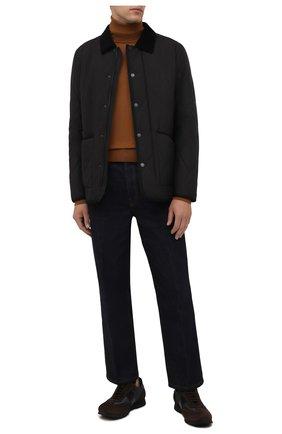 Мужская утепленная куртка Z ZEGNA черного цвета, арт. VY023/ZZ122 | Фото 2