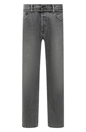Мужские джинсы ACNE STUDIOS серого цвета, арт. C00029/M | Фото 1