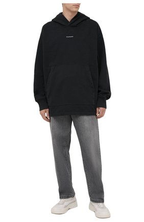 Мужские джинсы ACNE STUDIOS серого цвета, арт. C00029/M | Фото 2
