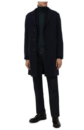 Мужские кожаные ботинки W.GIBBS черного цвета, арт. 0220008/2302 | Фото 2