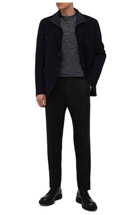 Мужские кожаные дерби W.GIBBS черного цвета, арт. 0537006/2535 | Фото 2