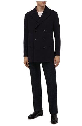 Мужские кожаные челси W.GIBBS черного цвета, арт. 0639028/2578 | Фото 2