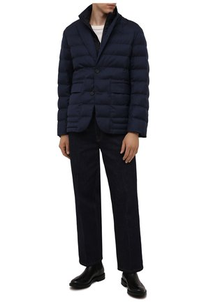 Мужские кожаные челси W.GIBBS черного цвета, арт. 3169016/0214 | Фото 2
