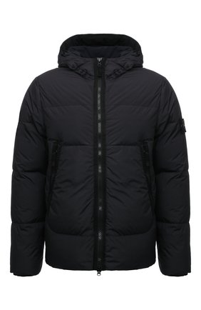 Мужская пуховая куртка STONE ISLAND черного цвета, арт. 751540123 | Фото 1