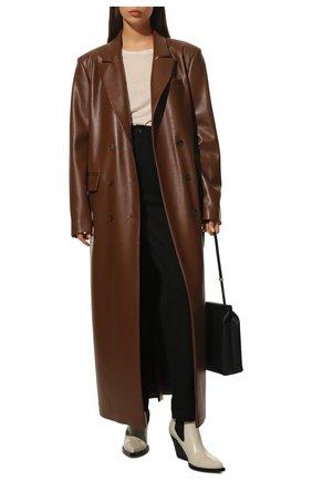 Женские джинсы DOLCE & GABBANA черного цвета, арт. FTBXGD/G902F   Фото 2