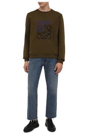 Мужские кожаные кеды BOGNER черного цвета, арт. 12140101/NEW BERLIN 6 C | Фото 2 (Материал внутренний: Текстиль, Натуральная кожа; Подошва: Массивная)