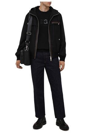 Мужские кожаные ботинки BOGNER черного цвета, арт. 12141611/CHESA ALPINA M 1 | Фото 2 (Подошва: Плоская; Материал внутренний: Натуральная кожа; Мужское Кросс-КТ: Ботинки-обувь, Хайкеры-обувь)