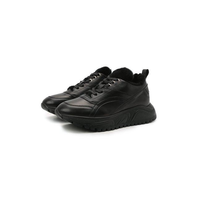 Кожаные кроссовки New Malaga 6 Bogner