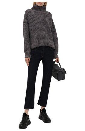 Женские кожаные кроссовки new malaga 6 BOGNER черного цвета, арт. 22140313/NEW MALAGA 6 C   Фото 2