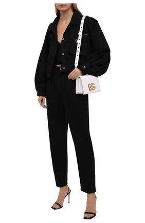 Женская джинсовая куртка DOLCE & GABBANA черного цвета, арт. F9J02D/G902A   Фото 2