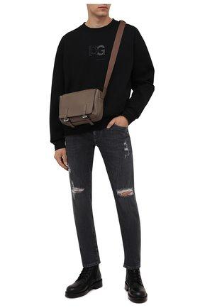 Мужские джинсы DOLCE & GABBANA темно-серого цвета, арт. GY07LD/G8EG4 | Фото 2