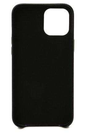 Чехол для iphone 12 pro max VETEMENTS черного цвета, арт. UA52SA300X 2410/M/BLACK/NE0N YELL0W 12 PR0 MAX | Фото 2