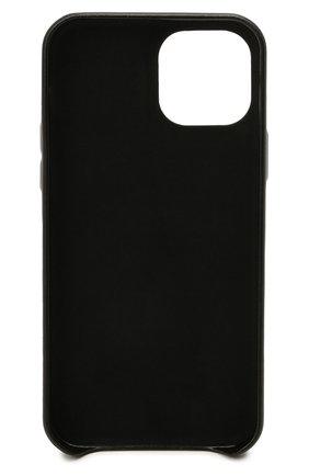 Чехол для iphone 12 pro VETEMENTS черного цвета, арт. UA52SA420B 2410/W/BLACK 12 PR0   Фото 2
