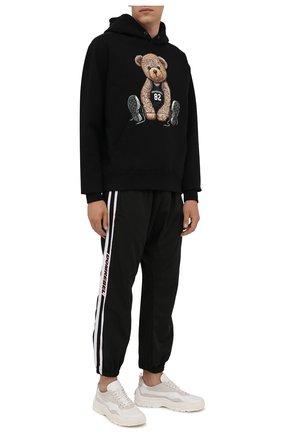 Мужские джоггеры DOMREBEL черного цвета, арт. MRELAX/TRACK PANTS | Фото 2