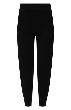 Женские джоггеры из вискозы STELLA MCCARTNEY черного цвета, арт. 244734/S2253 | Фото 1 (Длина (брюки, джинсы): Укороченные; Материал внешний: Вискоза; Стили: Спорт-шик; Кросс-КТ: Трикотаж; Женское Кросс-КТ: Джоггеры - брюки, Брюки-спорт; Силуэт Ж (брюки и джинсы): Джоггеры)
