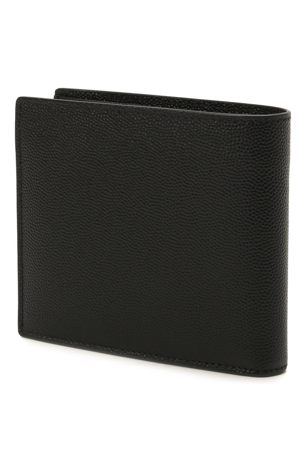 Мужской кожаное портмоне SAINT LAURENT черного цвета, арт. 396307/BTY0N | Фото 2