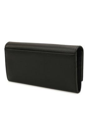 Женские кожаный кошелек DOLCE & GABBANA черного цвета, арт. BI0087/A0049 | Фото 2