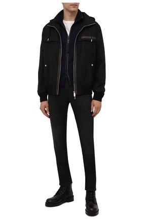 Мужские джинсы Z ZEGNA темно-серого цвета, арт. VY752/ZZ530 | Фото 2