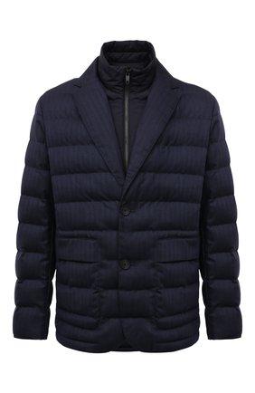Мужская утепленная куртка Z ZEGNA темно-синего цвета, арт. VY056/ZZ103 | Фото 1