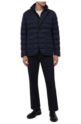 Мужская утепленная куртка Z ZEGNA темно-синего цвета, арт. VY056/ZZ103 | Фото 2