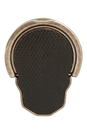 Кольцо-держатель для телефона ALEXANDER MCQUEEN серебряного цвета, арт. 663170/J160Y   Фото 2
