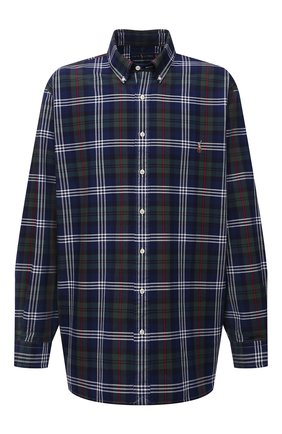 Мужская хлопковая рубашка POLO RALPH LAUREN разноцветного цвета, арт. 711847237/4127/PRL BS | Фото 1