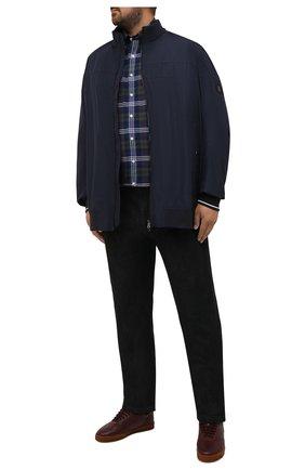 Мужская хлопковая рубашка POLO RALPH LAUREN разноцветного цвета, арт. 711847237/4127/PRL BS | Фото 2