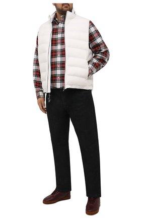 Мужская хлопковая рубашка POLO RALPH LAUREN красного цвета, арт. 711811288/4903/PRL BS | Фото 2