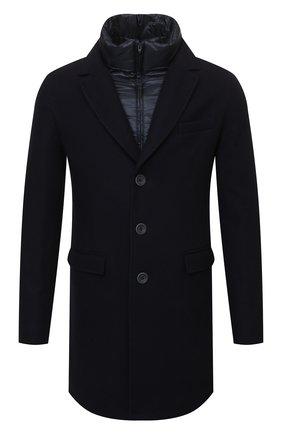 Мужской шерстяное пальто HERNO синего цвета, арт. CA0045U/39601 | Фото 1