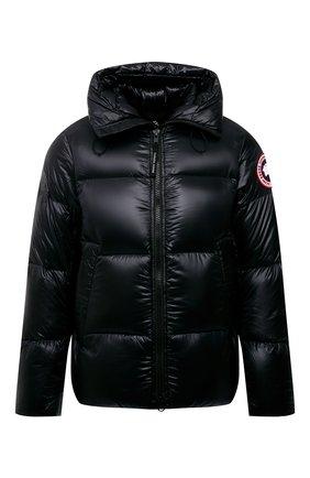 Мужская пуховая куртка crofton CANADA GOOSE черного цвета, арт. 2252M | Фото 1