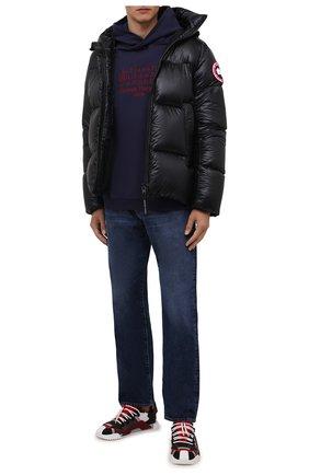 Мужская пуховая куртка crofton CANADA GOOSE черного цвета, арт. 2252M | Фото 2