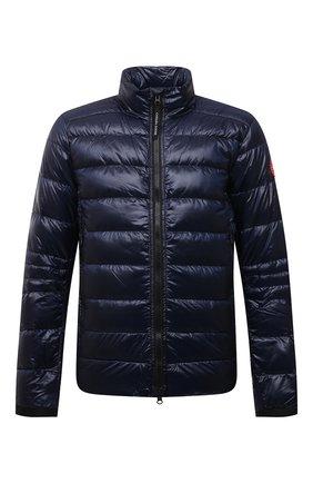 Мужская пуховая куртка crofton CANADA GOOSE темно-синего цвета, арт. 2228M | Фото 1