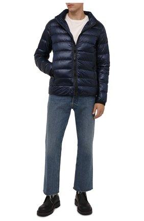 Мужская пуховая куртка crofton CANADA GOOSE темно-синего цвета, арт. 2228M | Фото 2