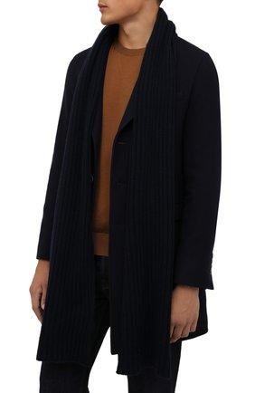 Мужской кашемировый шарф INVERNI темно-синего цвета, арт. 5003 SM | Фото 2