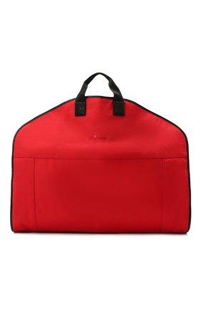Мужская текстильный кофр KITON красного цвета, арт. UBSMARTN00821 | Фото 1 (Материал: Текстиль; Ошибки технического описания: Нет глубины, Нет высоты)