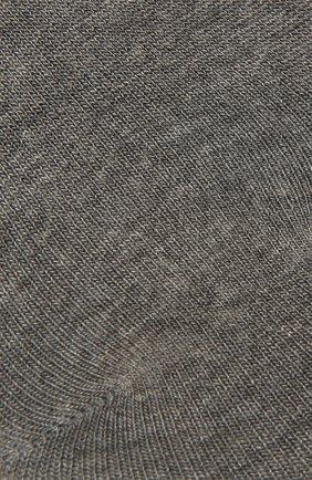 Женские носки FALKE серого цвета, арт. 46423 | Фото 2 (Материал внешний: Синтетический материал, Растительное волокно)