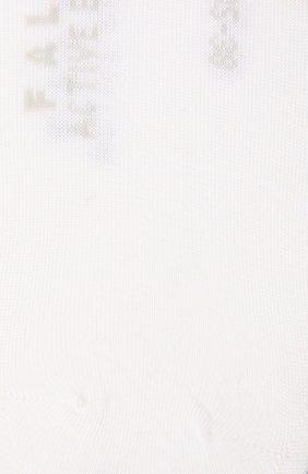 Женские носки FALKE кремвого цвета, арт. 46423 | Фото 2 (Материал внешний: Синтетический материал, Растительное волокно)