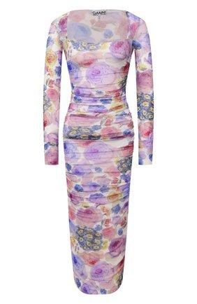 Женское платье GANNI разноцветного цвета, арт. T2892   Фото 1