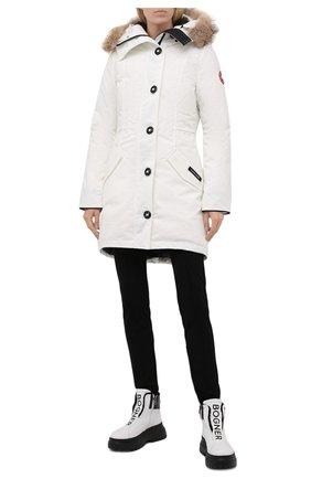 Женские кожаные ботинки BOGNER черно-белого цвета, арт. 22141853/BANFF 5 B   Фото 2