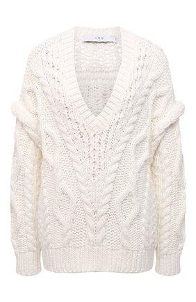 Женский свитер IRO молочного цвета, арт. WP12PRADE | Фото 1