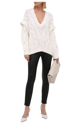 Женский свитер IRO молочного цвета, арт. WP12PRADE | Фото 2