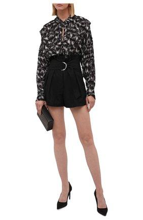 Женская блузка из вискозы IRO черно-белого цвета, арт. WP16TCHAMI | Фото 2