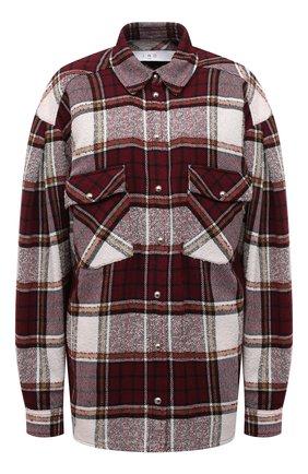 Женская рубашка IRO бордового цвета, арт. WP18HATIK | Фото 1
