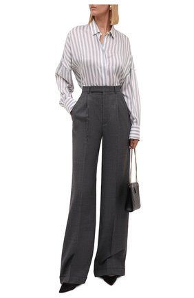 Женская рубашка из вискозы и шелка IRO светло-серого цвета, арт. WP18MASSARI | Фото 2